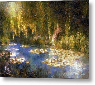 Monet After Midnight Metal Print