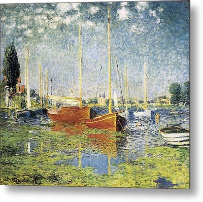 Monet, Claude 1840-1926. Argenteuil Metal Print by Everett
