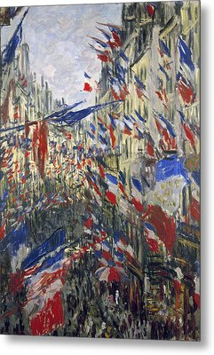 Monet: Montorgeuil, 1878 Metal Print by Granger