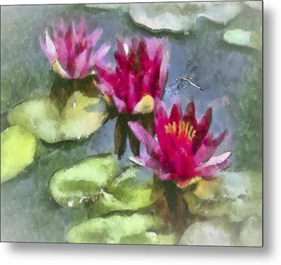 Monet's Muse Metal Print by Jill Balsam