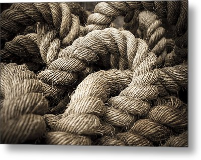 Metal Print featuring the photograph Money For Old Rope by Stewart Scott