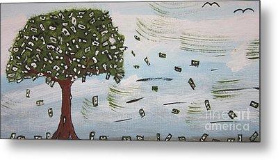 The Money Tree Metal Print by Jeffrey Koss