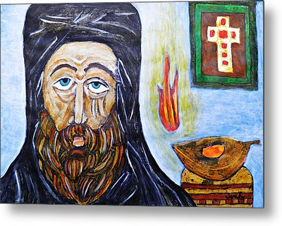 Monk 2 Metal Print by Sarah Loft