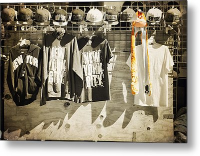 Monkey In The Middle  Metal Print