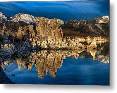 Mono Lake In March Metal Print