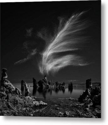 Mono Lake's Tufa Cathedral Metal Print