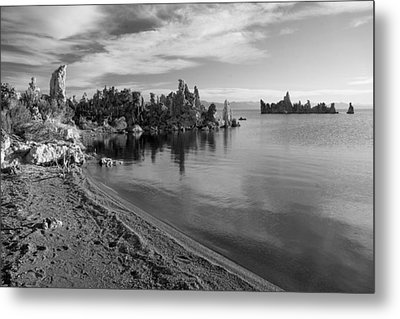 Metal Print featuring the photograph Mono Towers by Jim Snyder