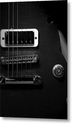 Monochrome Yamaha 3 Metal Print by David Weeks
