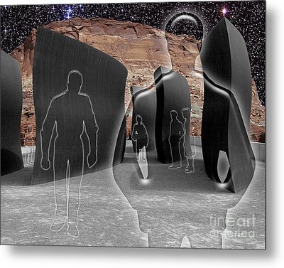 Monoliths For The Empty People Metal Print by Keith Dillon