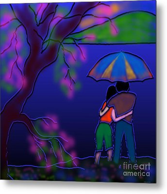 Monsoon Metal Print by Latha Gokuldas Panicker