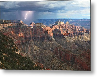 Monsoon Sunset Metal Print by Mike Buchheit