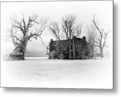 Monster Manor - Horror House On Outer Banks Metal Print by Dan Carmichael