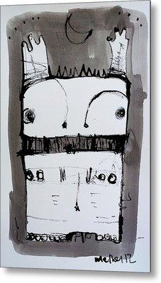 Monstra No. 1 Metal Print by Mark M  Mellon