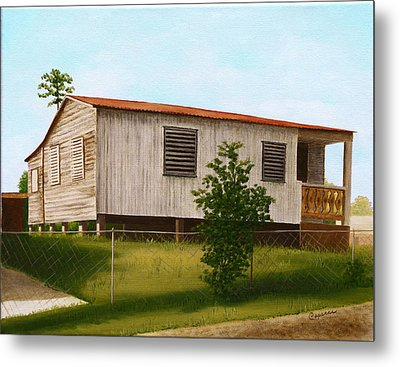 Montalvo Family House - Puerto Rico Metal Print by Robin Capecci