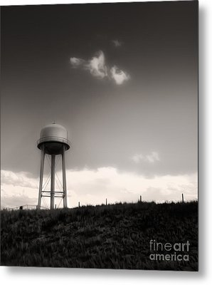 Montana - Lonely Sky Metal Print by Gregory Dyer