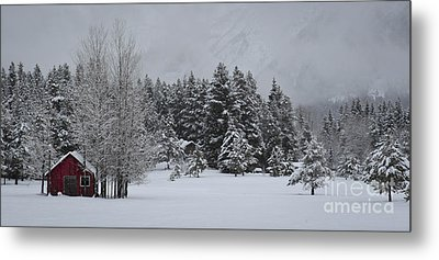 Montana Morning Metal Print