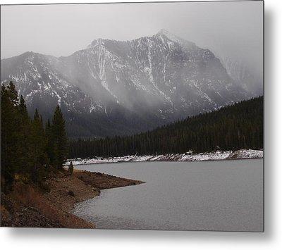 Montana Winter Metal Print by Yvette Pichette