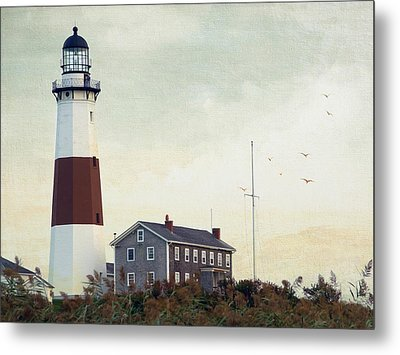 Montauk Dusk Metal Print by Keith Armstrong