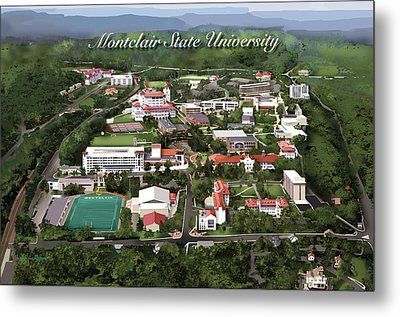 Montclair State University Metal Print by Rhett and Sherry  Erb