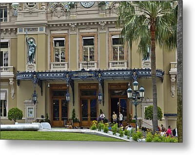 Metal Print featuring the photograph Monte Carlo Casino by Allen Sheffield