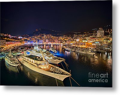Monte Carlo Harbor Metal Print by John Greim