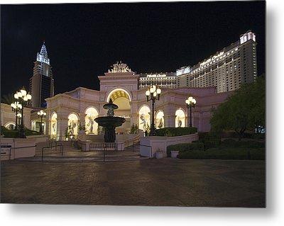 Monte Carlo Resort - Las Vegas Metal Print by Brendan Reals