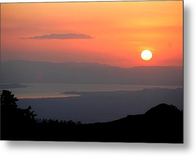 Monte Verde Sunset Metal Print