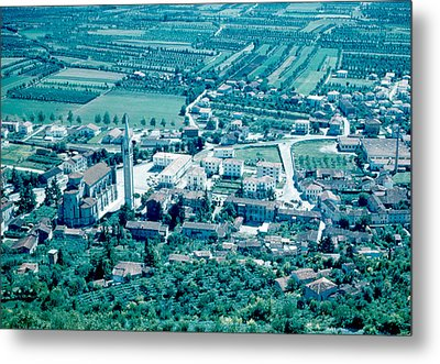 Montechio Italy 1962 Metal Print by Cumberland Warden