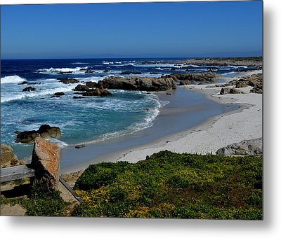Metal Print featuring the photograph Monterey-1 by Dean Ferreira