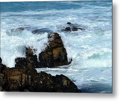 Metal Print featuring the photograph Monterey-2 by Dean Ferreira
