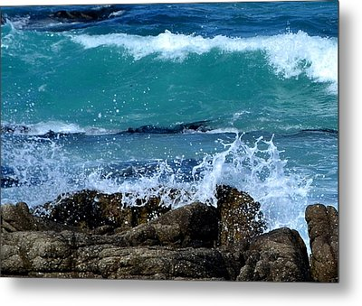 Metal Print featuring the photograph Monterey-3 by Dean Ferreira