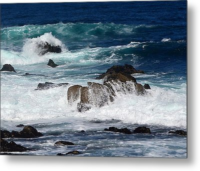 Metal Print featuring the photograph Monterey-6 by Dean Ferreira