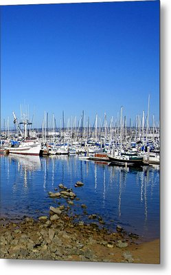 Metal Print featuring the photograph Monterey-7 by Dean Ferreira