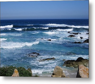 Metal Print featuring the photograph Monterey-9 by Dean Ferreira
