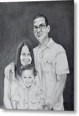 Montes Family Metal Print