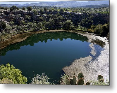 Montezuma Well Metal Print by Ivete Basso Photography