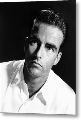 Montgomery Clift, Ca. Early 1950s Metal Print