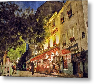 Montmartre Metal Print by Celso Bressan