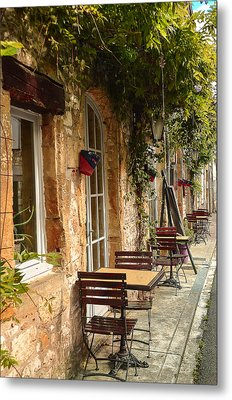 French Cafe Metal Print by Dany Lison