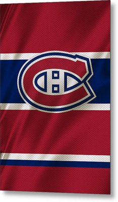 Montreal Canadiens Uniform Metal Print