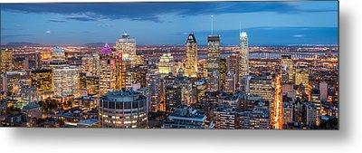 Montreal Panorama Metal Print by Mihai Andritoiu