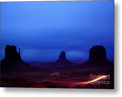 Monument Valley Awakens Metal Print by C Lythgo