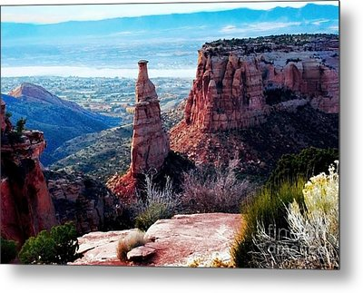 Monument Valley Colorado Metal Print by Polly Peacock