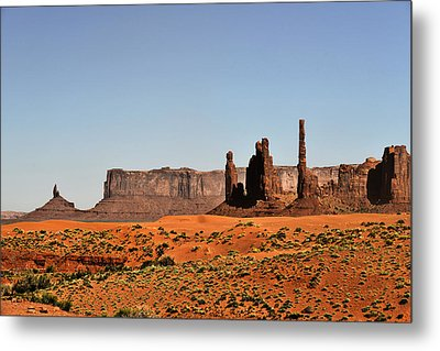 Monument Valley - Icon Of The West Metal Print by Christine Till