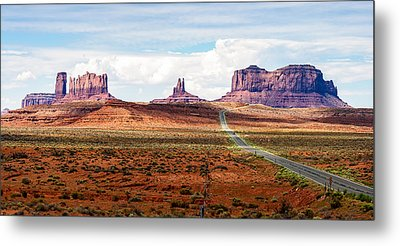 Monument Valley Metal Print by John McArthur