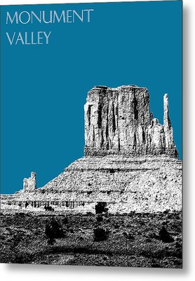 Monument Valley - Steel Metal Print by DB Artist