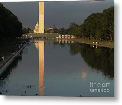Monumental Reflection Metal Print