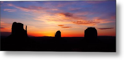 Monumental Sunrise Metal Print