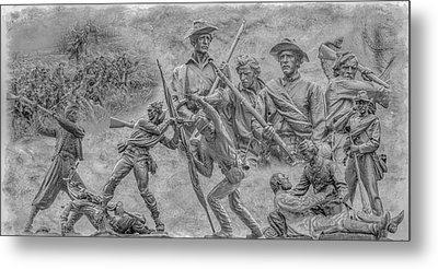 Monuments On The Gettysburg Battlefield Ver 2 Metal Print by Randy Steele