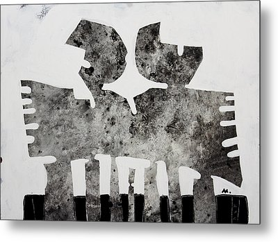 Monumentum No 5 Metal Print by Mark M  Mellon